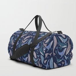 A school of whales Duffle Bag