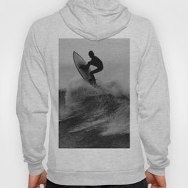 Surf black white Hoody