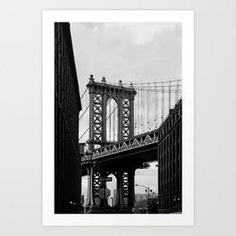 new york city ... manhattan bridge III Art Print