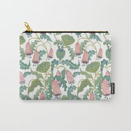 Folk Florals Carry-All Pouch