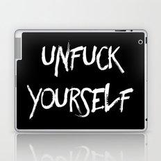 Unfuck Yourself - inverse Laptop & iPad Skin