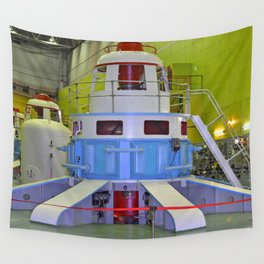 machine room HPP Wall Tapestry
