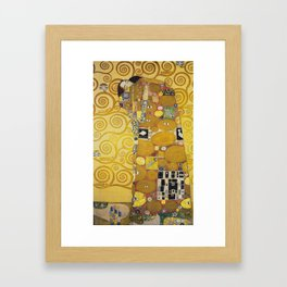 The Embrace - Gustav Klimt Framed Art Print