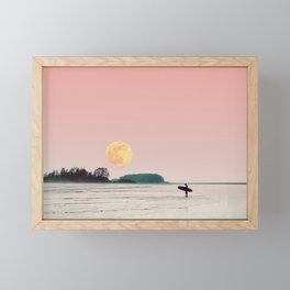 surfs up Framed Mini Art Print