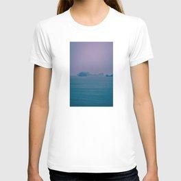 Foggy Horizon in Ha Long Bay, Vietnam. Nature Photography. T-shirt