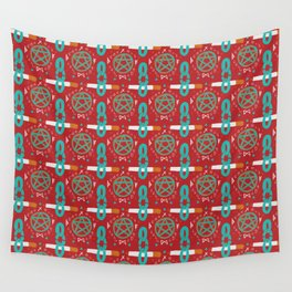 Cigarettes and Pentagrams Wall Tapestry
