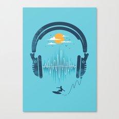 Summer Waves Canvas Print