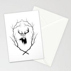 DEER REVISITED Stationery Cards