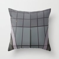 bow Throw Pillows featuring Bow by RMK Creative