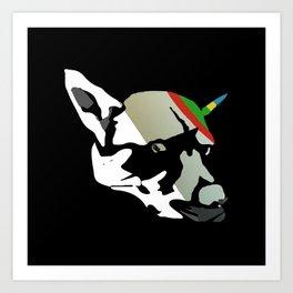 Fossil Dog Art Print
