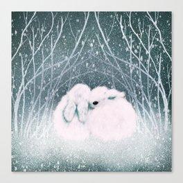 Baby Bun Buns Canvas Print