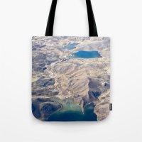 peru Tote Bags featuring Sierra Peru by Tatiana Kiseleva