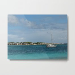 Orient Beach View Metal Print