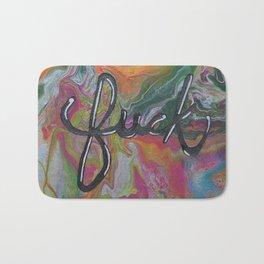 Lets Make Swearing Great Again - Acrylic Painting Bath Mat