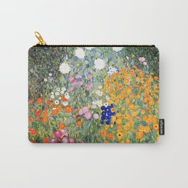 The Garden by Gustav Klimt Carry-All Pouch