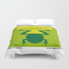 No159 My MAGNOLIA minimal movie poster Duvet Cover