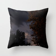 storm in the west. Throw Pillow