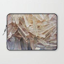 Sparkly Clear Magical Unicorn Crystal Shards Laptop Sleeve