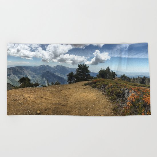 Summit Panorama Beach Towel