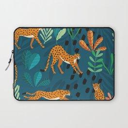 Cheetah pattern 001 Laptop Sleeve
