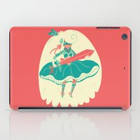 ass iPad Cases featuring Magical Ass Kicker by Polite Yet Peculiar