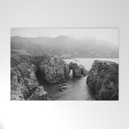 Ocean Arches   Black and White Nature Landscape Photography in California Welcome Mat