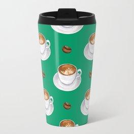 Coffee cups - green Travel Mug