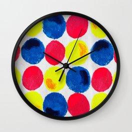 Circle of Colors Wall Clock