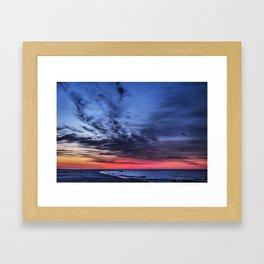Just Before Sunrise Framed Art Print
