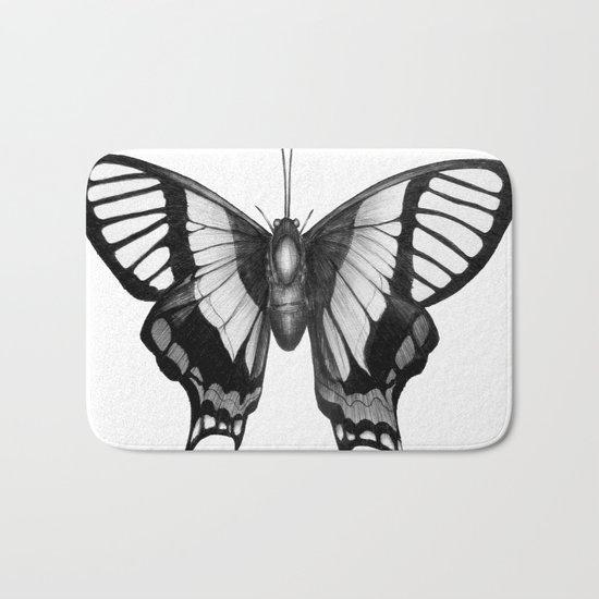 Butterfly Wings Bath Mat