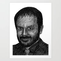 crowley Art Prints featuring Crowley by Jack Kershaw