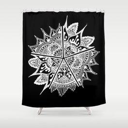 Mandala Etoiles Shower Curtain
