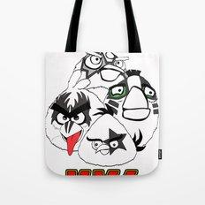 Angry Kiss Tote Bag