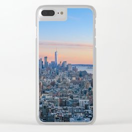 Manhattan Popsicle Clear iPhone Case