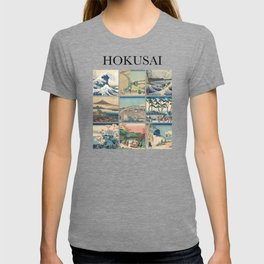 Hokusai - Collage T-shirt