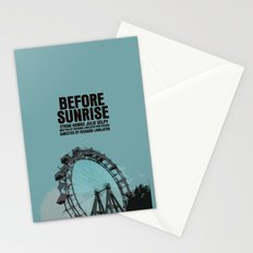 Before Sunrise Movie Poster Stationery Cards