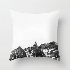 Minimalist Mountain Throw Pillow