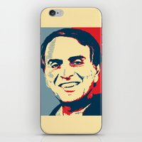 carl sagan iPhone & iPod Skins featuring Carl Sagan 'Hope' by cvrcak