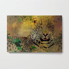 LeopardArt Metal Print