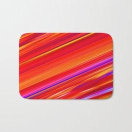 Perfect  Strips by Gabriele Müller  Bath Mat