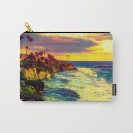 Glowing sea Carry-All Pouch