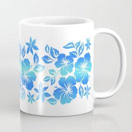 Lilikoi Hibiscus Hawaiian Hula Pareau Design Coffee Mug
