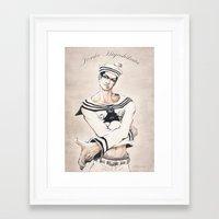 jjba Framed Art Prints featuring Jo2uke - Jojolion - JJBA by A.D. Bravo