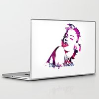 pinup Laptop & iPad Skins featuring Pinup MM by Blck Anime Prints