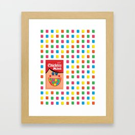 Mini Adams Chiclets Framed Art Print