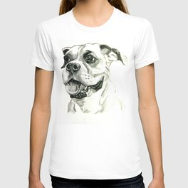 Smiling Boxer Boy Oscar T-shirt