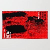 oscar wilde Area & Throw Rugs featuring Oscar Wilde #7 I don't want to go to heaven by bravo la fourmi