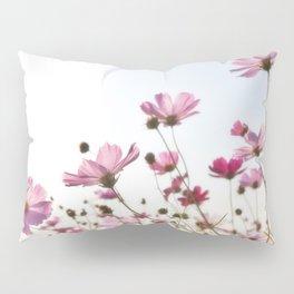 Pink Cosmos Pillow Sham