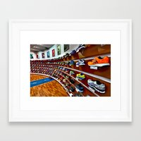 runner Framed Art Prints featuring Runner by LeicaCologne Germany