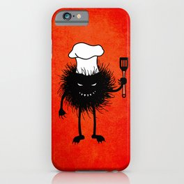Evil Bug Chef Loves To Cook iPhone Case